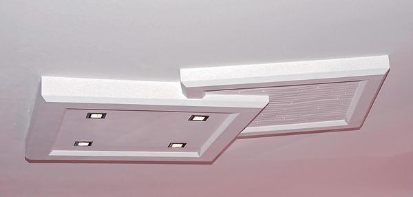 design leuchten lichtpaneele aus stuck malerblatt online. Black Bedroom Furniture Sets. Home Design Ideas