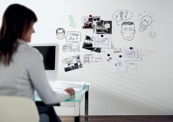 bersichtlich beschriftbare und magnetische w nde malerblatt online. Black Bedroom Furniture Sets. Home Design Ideas