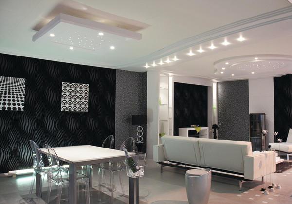 sthetik und qualit t stuck leuchten malerblatt online. Black Bedroom Furniture Sets. Home Design Ideas