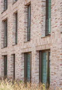 Ansicht von Fensterlaibungen