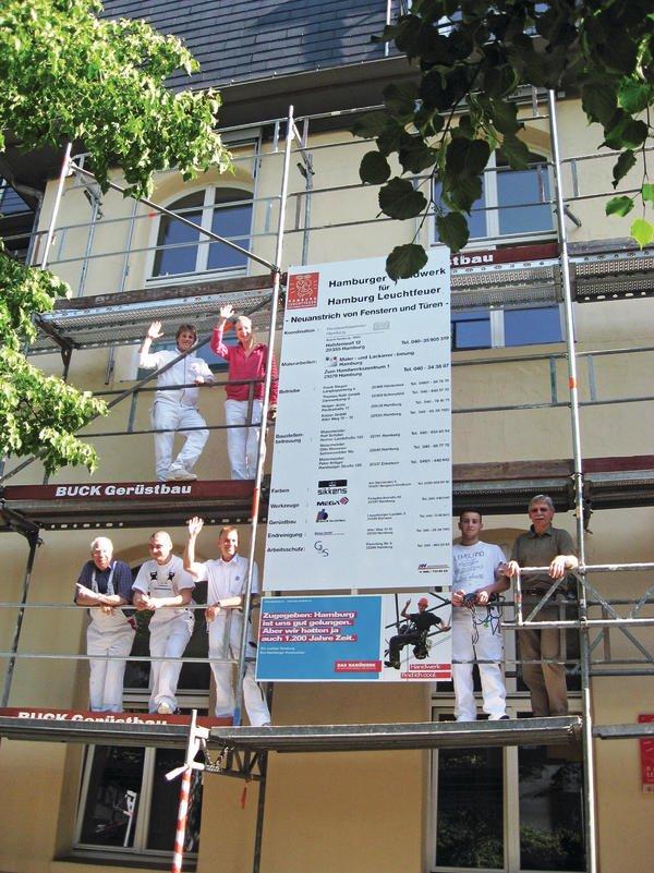 Die Maler Innung Hamburg Und Weitere Gewerke Engagieren Sich Fur Das