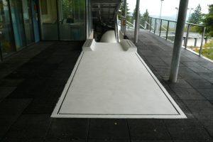 Rennschlitten- und Bobbahn Oberhof: Betoninstandsetzung mit StoCretec