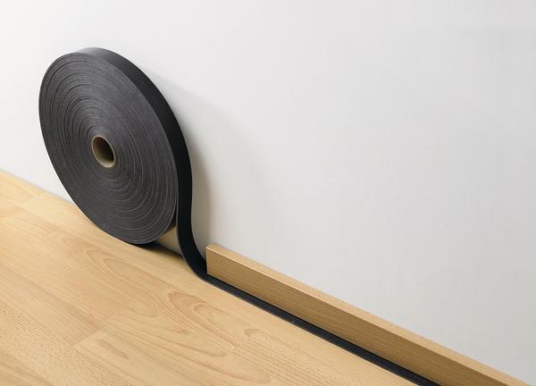 kleiner streifen gro e wirkung trittschalld mmung malerblatt online. Black Bedroom Furniture Sets. Home Design Ideas