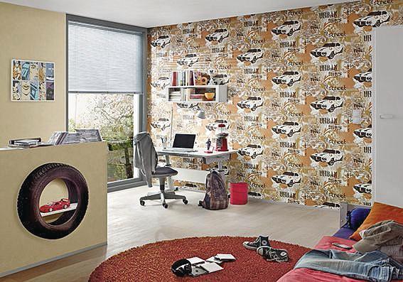 Tapeten Fürs Kinderzimmer   Bunt Und Frohlich Tapeten Furs Kinderzimmer Malerblatt Online