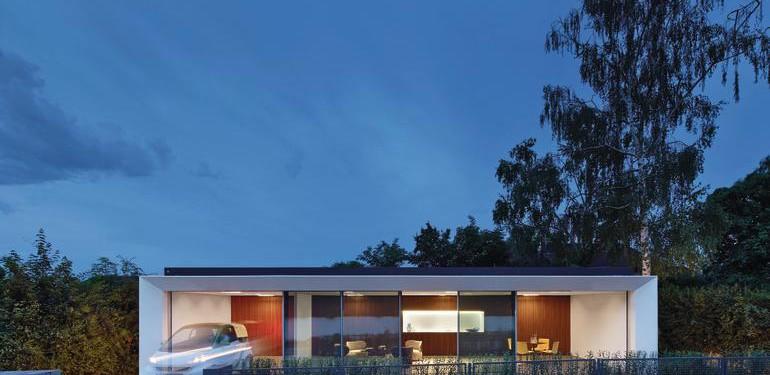 """Das Aktivhaus soll benachbarte Gebäude mit überschüssiger, selbst erzeugter Energie versorgen. """"Schwesterlichkeit"""" nennt Werner Sobek diesen Versorgungspakt."""