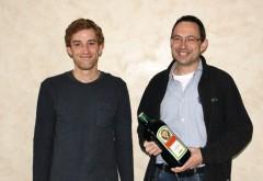 Jaeger-Außendienstmitarbeiter Stephan Schuler (rechts) und Marketingleiter Lorenz Vogt. Foto: Ulrich Schweizer