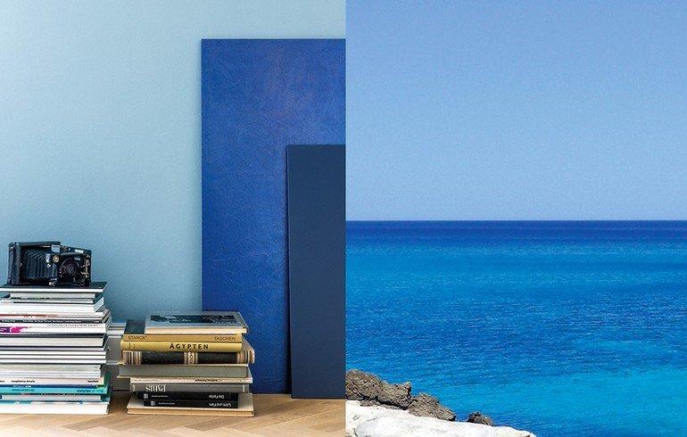 lust auf meer wie facettenreich blau erscheint zeigt uns die vielschichtigkeit von wasser in seinen zahlreichen nuancen warum nicht auch im eigenen - Tiefenwirkung Durch Farben