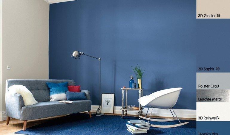 Bock auf blau malerblatt online - Wandfarbe dunkelblau ...