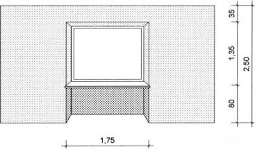 der aufma tipp leibung entsteht durch d mmst rke. Black Bedroom Furniture Sets. Home Design Ideas