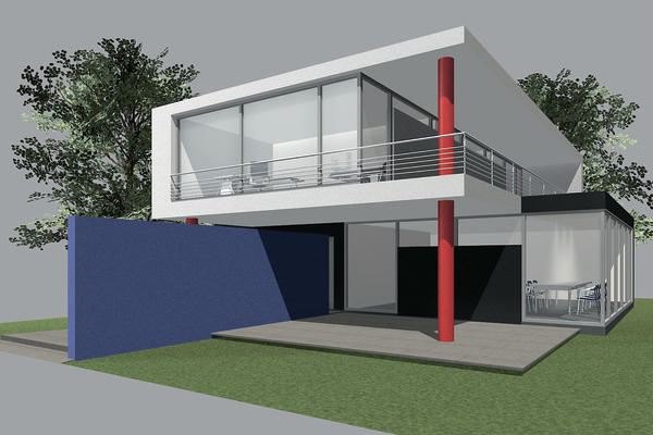 architektur farben malerblatt online. Black Bedroom Furniture Sets. Home Design Ideas
