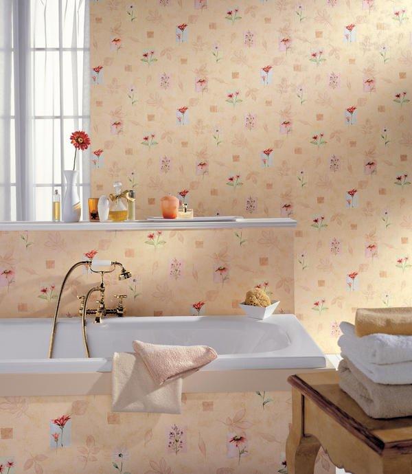 Tapete statt fliese malerblatt online for Fliesen tapete badezimmer