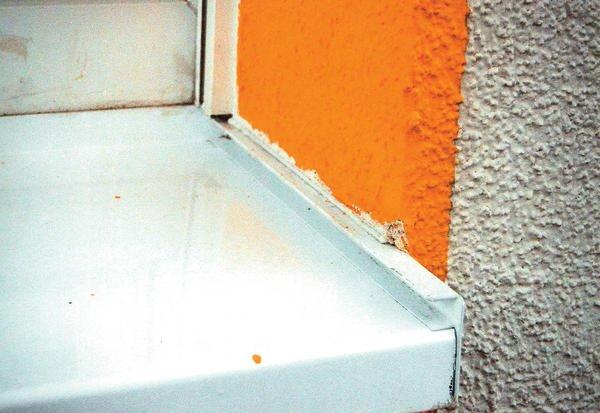 Fehlerteufel fensterbank tipps zum einbau bei wdvs fassaden for Fenster verputzen