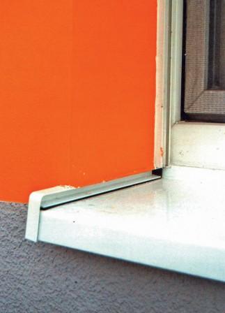 fehlerteufel fensterbank tipps zum einbau bei wdvs fassaden. Black Bedroom Furniture Sets. Home Design Ideas
