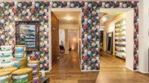 Showroomkonzept: Ausstellungsräume bei Farben Heim in Stuttgart