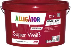 Alligator Super Weiß