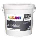 Alligator Art Nobile Design Silikatputz innen