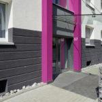 Putzstrukturen für die Fassade