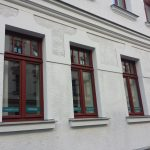 Sanierung einer Fassade in Leipzig