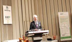 Dr.-Ing. Michael Fiebrich, Bau Ingenieur Sozietät Sasse & Fiebrich, Aachen und Vorsitzender der GUEP, Krefeld, hier beim vorjährigen Planertag, wird die Veranstaltung mit einem Update zur Instandhaltung 2018/2019 eröffnen. Foto: GUEP