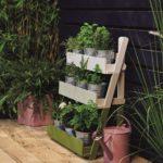 Gartenpflanzen Ständer