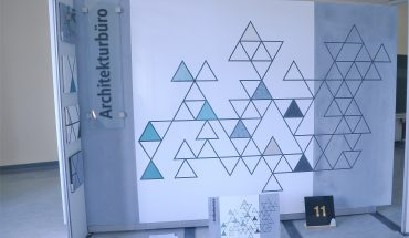 Florian Saum. Architektur – Materialästhetik, klare Formen, klare Aussage. Foto: Michael Rehm