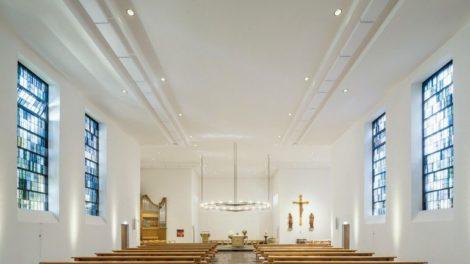 Perfekte Raumakustik in der Kirche