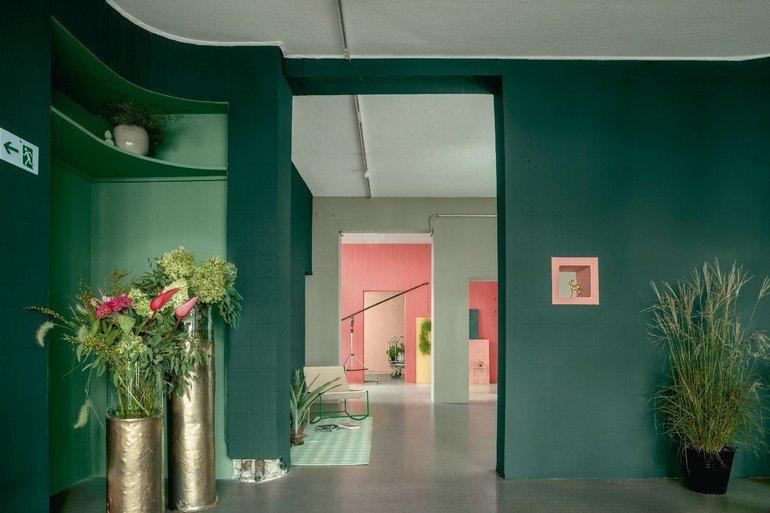 farbtrends 2018 drei farben gr n. Black Bedroom Furniture Sets. Home Design Ideas