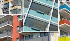 Wohnungen,_saniert,_Sozialwohnungen,_renoviert,_Mietshäuser,_neu,_kommunal,_sozialer_Wohnungsbau,_preiswert,_wohnen,_sozial,_Fenster_Konzept_Stadt_sanierte,_Sozialbau,_farbigbunte,_Fassade,_Balkon_Collage_Platte_Wohnviertel,_Deutschland_Fenster,_Balkone_s