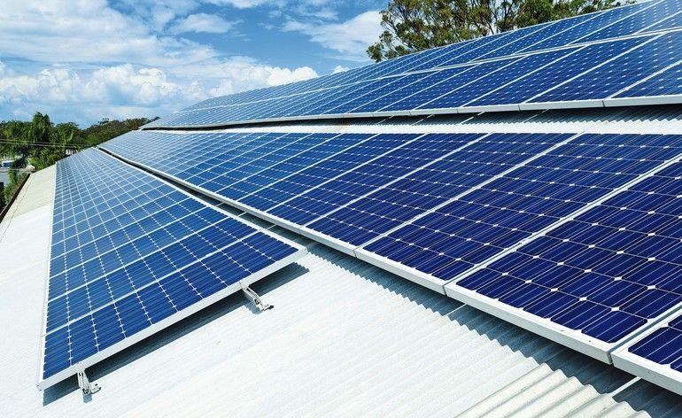 Photovoltaik im Betrieb
