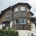 Schutzanstrich für Holzfassade