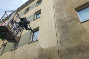 Fassadenreinigung-Schäden durch Hochdruckreiniger?