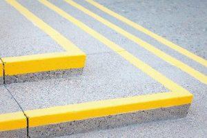 Straßenmarkierung Jansen