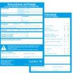 Kennzeichnungsblock für Fahrgerüste
