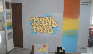 Lukas Frey. Jugendhaus – Graffiti gehört dazu. Foto: Michael Rehm