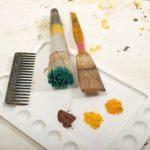 Stoffmalerei Werkzeuge und Materialien