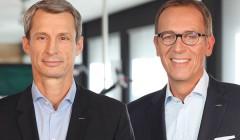 Die Metabo-Vorstände Horst Garbrecht und Eric Oellerer.