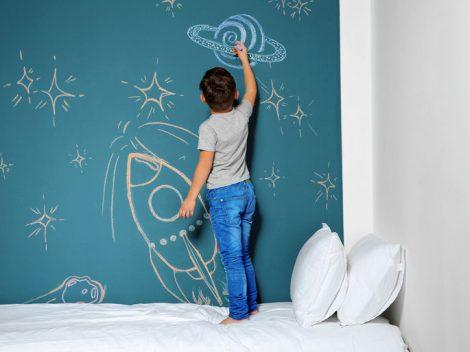 Schultafellack: Kreativzone im Kinderzimmer