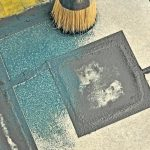 Fußbodenmalerei