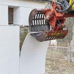 WDVS Recycling: Abstrippen