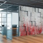 Interior_of_modern_business_center_hall_with_grey_and_glass_walls,_wooden_floor,_open_space_office_and_conference_room._Mock_up_wall_between_them._3d_rendering