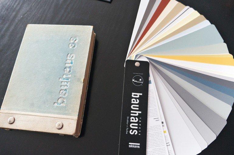 bauhaus tapete struktur und farbe f r eine perfekte raumwirkung. Black Bedroom Furniture Sets. Home Design Ideas